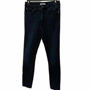 ZARA High Rise Skinny Jeans 8